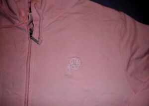 Image is loading Washington-Redskins-Hoodie-Ladies-Small-Pink-Full-Zip- d85e5820d