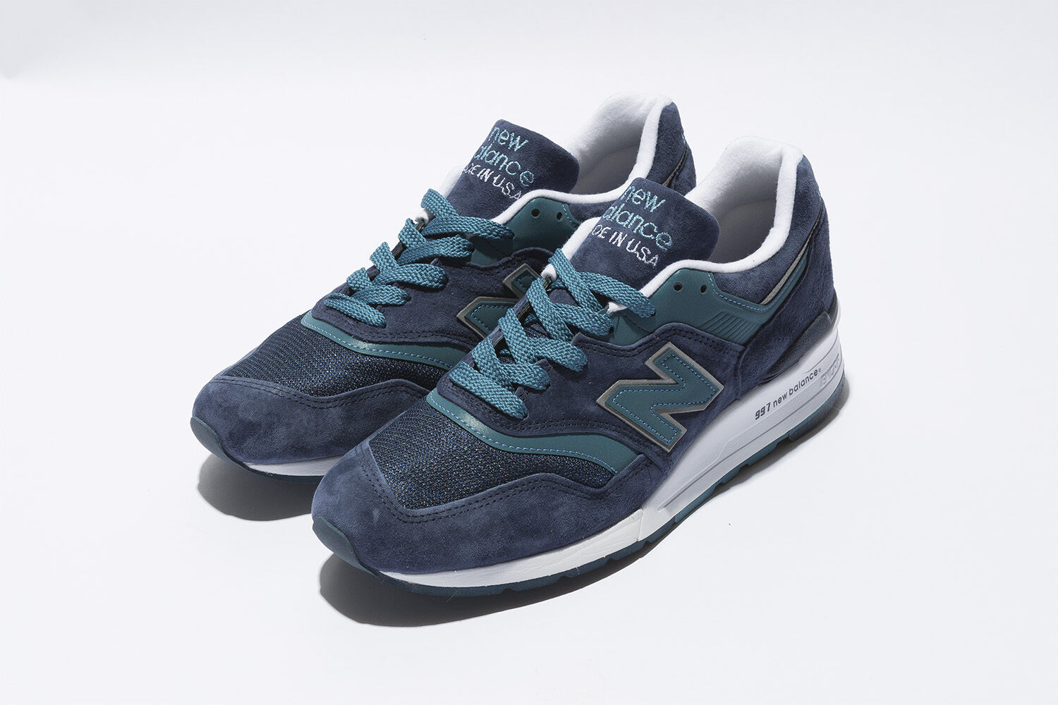 NIB New Balance MENS M997CEF 997 MADE IN USA PREMIUM NAVY BLUE SNEAKERS 8-12