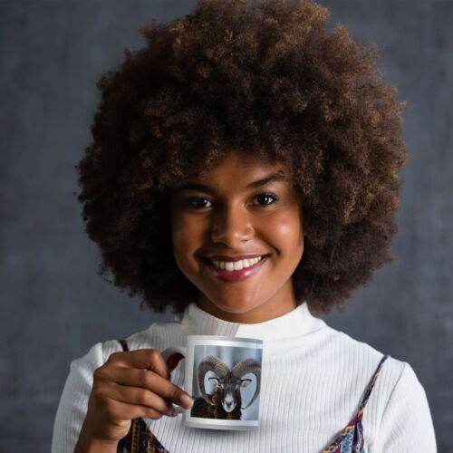 Mouflon Ovis Orientali Drinks Mug Cup Kitchen Birthday Office Fun Gift #16860