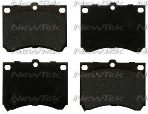 Disc Brake Pad Set-Velocity Plus Economy Semi-metallic with shim Disc Pads Front