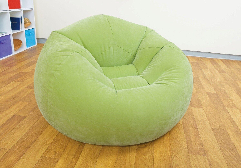 Details Zu Intex Sitzkissen Stuhl Sitzsack Sessel Beanless Bag Chair Grün
