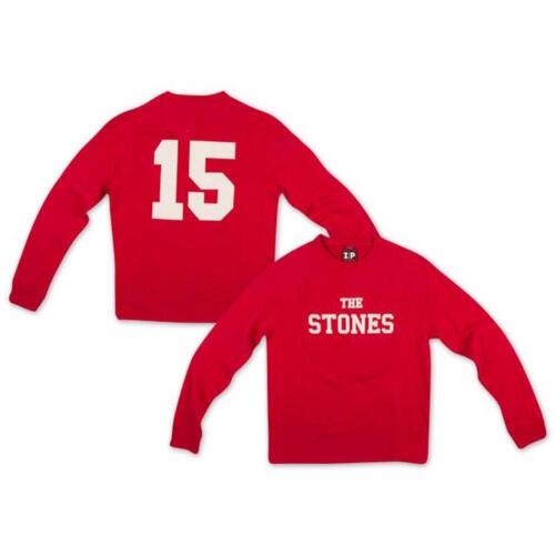 Rosso I Rolling Stones-ZIP Code Ufficiale da Uomo Maglione Jumper