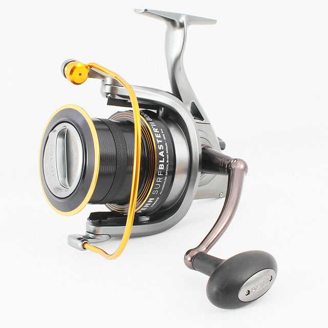 Leeda Large Beach Fishing Reel with 18lb Line for Rod