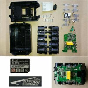Batteriekasten-Ladeplatine-fuer-MAKITA-BL1830-BL1830-B-L1840-BL1850-Batterie-Neu