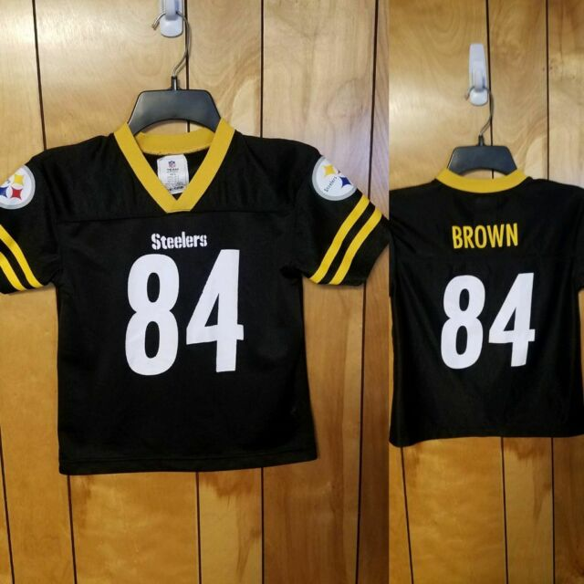 reputable site 2b0b0 49b2d Pittsburgh Steelers # 84 Antonio Brown Youth Jersey Size Small NFL