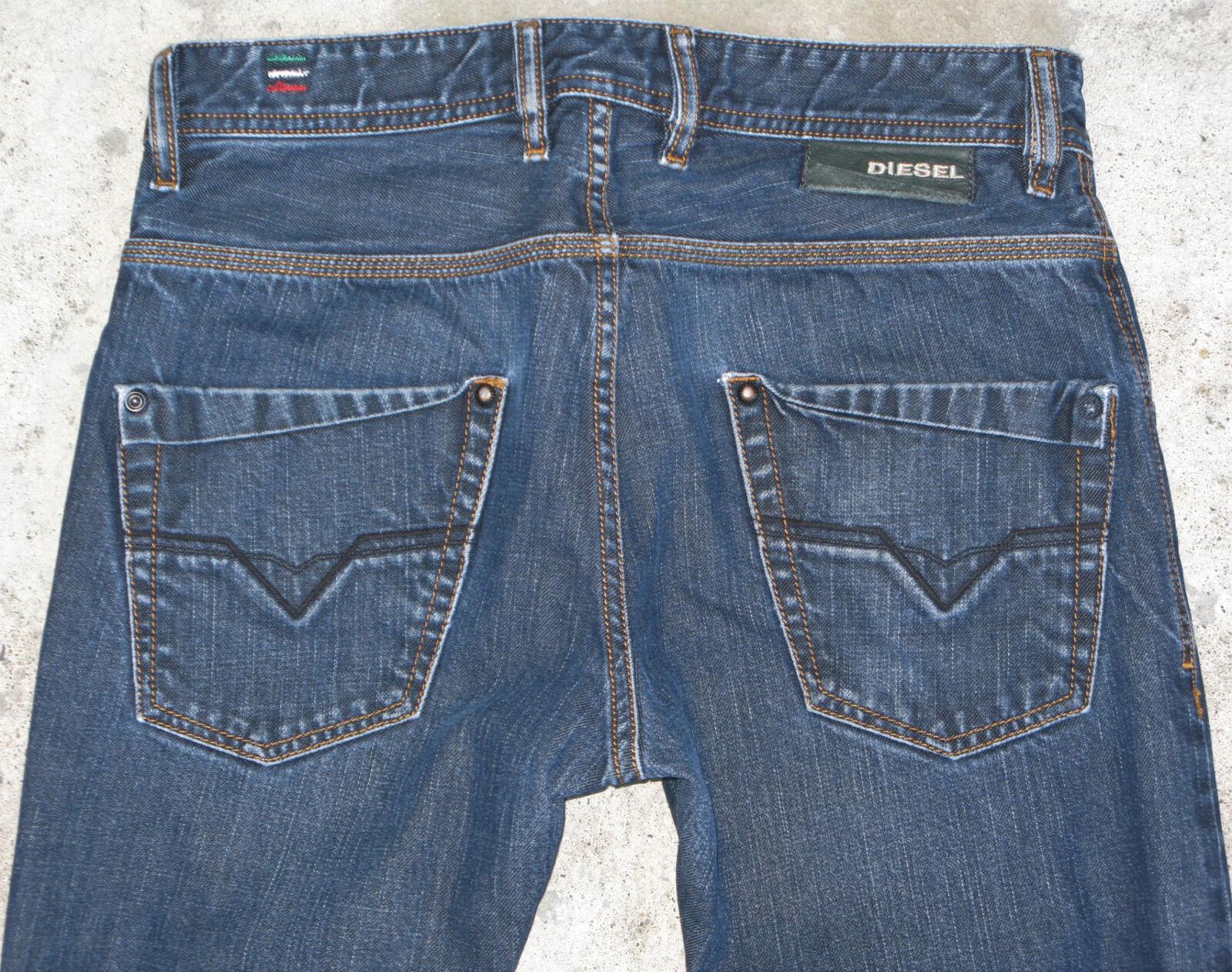 Diesel Herren Krooleg Jeans Sz 29 X 27 Enganliegend 100% Cotton 88z Italien Made  | Attraktives Aussehen