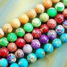 6mm red Rainbow Jasper gemstone loose beads 15/'/'AAA##MJ114