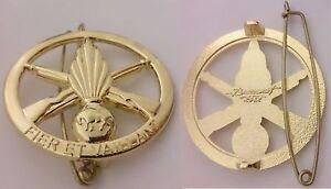 insigne-de-beret-du-126-RI-126-Regiment-d-039-infanterie-Devise-034-Fier-et-vaillant-034