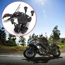X-Grip RAM Motorcycle Bike Car Mount Cellphone Holder USB Charger For Phone TN#*