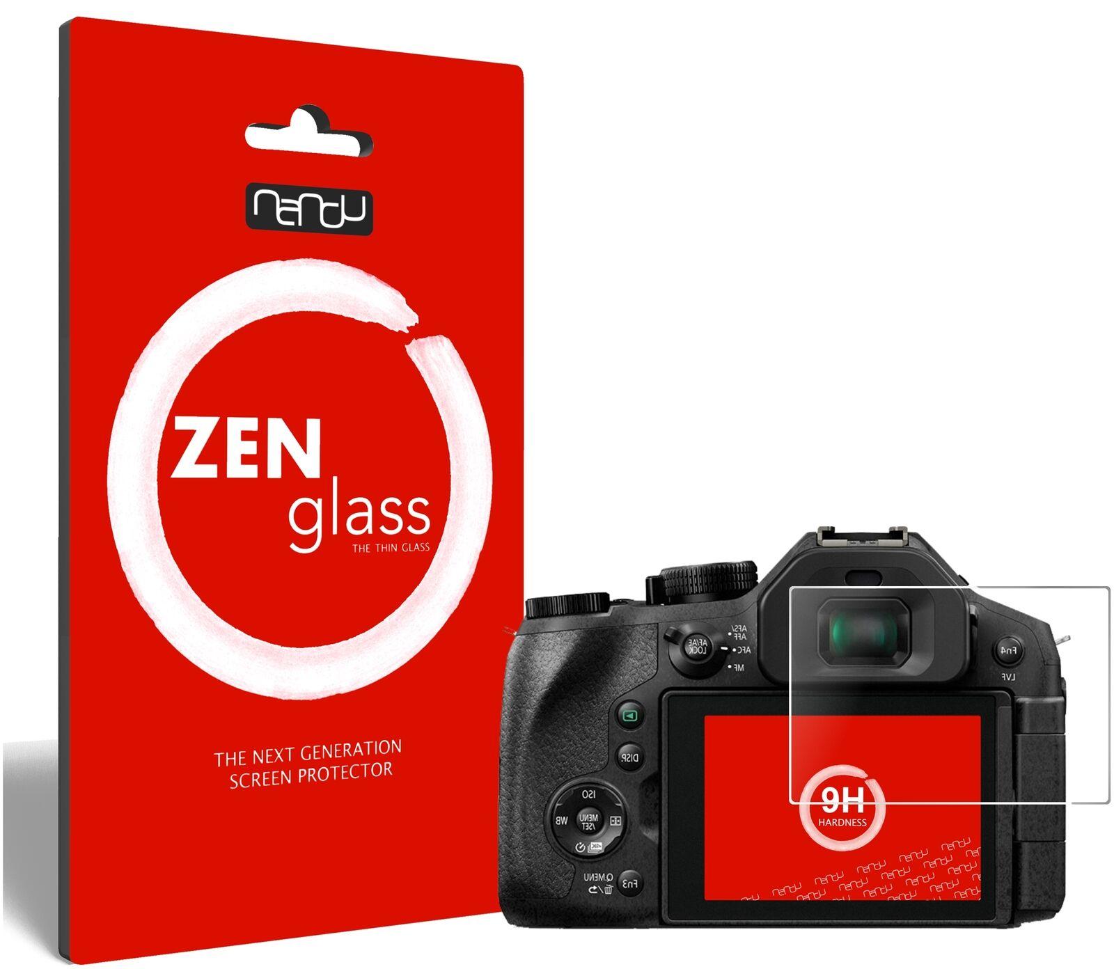 ZenGlass Flexible Glass Film for Panasonic Lumix FZ300 I Screen Protector 9H