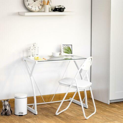 Office Furniture Ordinateur Portable Universite Ordinateur Bureau Verre Z Blanc Desk Etude Lk Sky