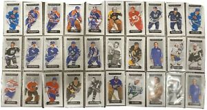 2018-19-UD-CHRONOLOGY-34-CARD-MINI-BASE-LOT-60-MULLEN-NASLUND-VACHON-BOURQUE