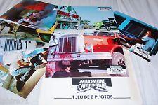 MAXIMUM OVERDRIVE ! stephen king  jeu photos cinema lobby cards trucks