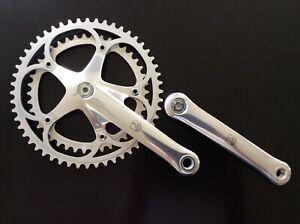 Campagnolo Croce d'Aune crank set C Record Era for Colnago, Eddy Merckx...WOW!