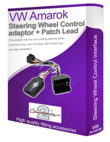Connectez votre Volant tige contrôle VW Amarok Voiture Stéréo Plomb Adaptateur
