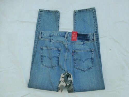 NWT MENS GUSSET ALTERED TAPER CROPPED JEANS $89 CAMO 36075-0003
