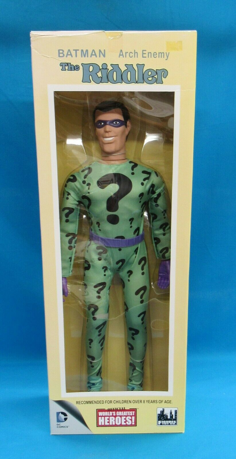 Figures Toy Co  DC Comics Official World's Greatest Heroes  Riddler 18 in (environ 45.72 cm) Figure  protection après-vente