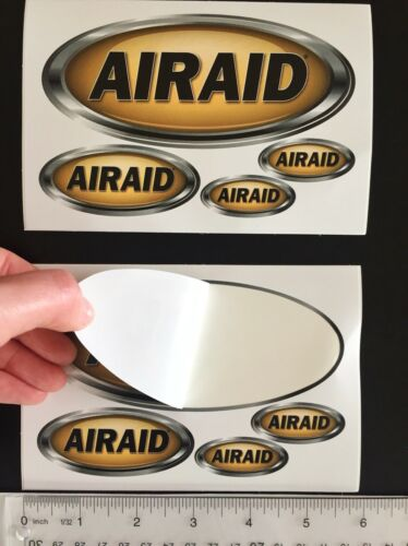 2 sheets 8 NEW AIRAID decals stickers FREE SHIP Air intake systems