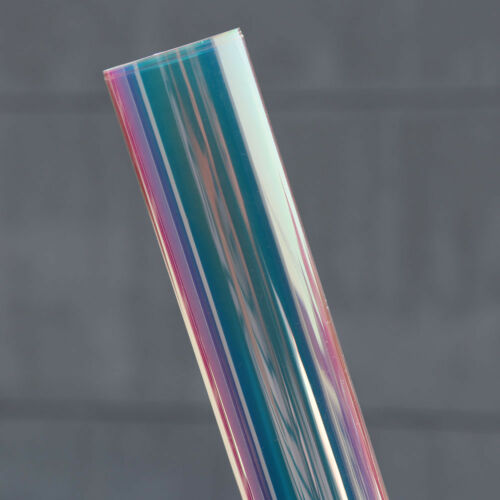 Rainbow Effect Dichroic Iridescent window film Glass Acrylic 45cmx45cm Sample