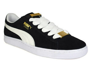 more photos 2bdee 1e05b Details about Puma Mens Suede Classic BBOY Black Trainers 365362-01