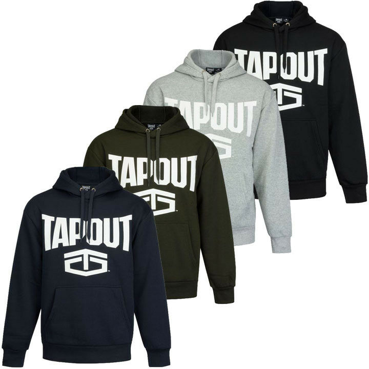 Tapout Logo Ll Men's Hooded Sweatshirt S M L XL 2XL Hoodie Pullover New