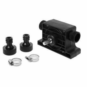 Portable Electric Drill Pump Self Priming Transfer Oil Fluid Water Pumps Pump