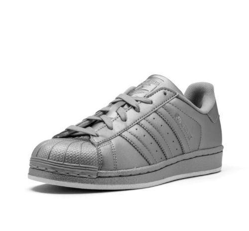 Nuevo Rare zapatos adidas Originals Superstar Boost zapatos Rare mujer plata bb8139 7 4358fc
