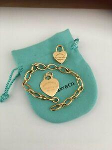 Tiffany Gold Clasping Link BraceletLeather Name Bracelets