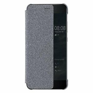 Official Huawei Flip View Cover Case for P10 Plus Light - Grey - FREE DELIVERY