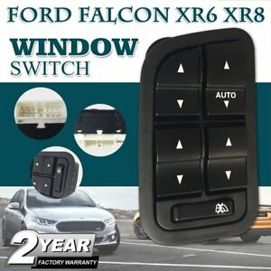 Electric-Master-Power-Window-Switch-for-Ford-Falcon-XR6-XR8-BA-BF-Black-13Pin-ax