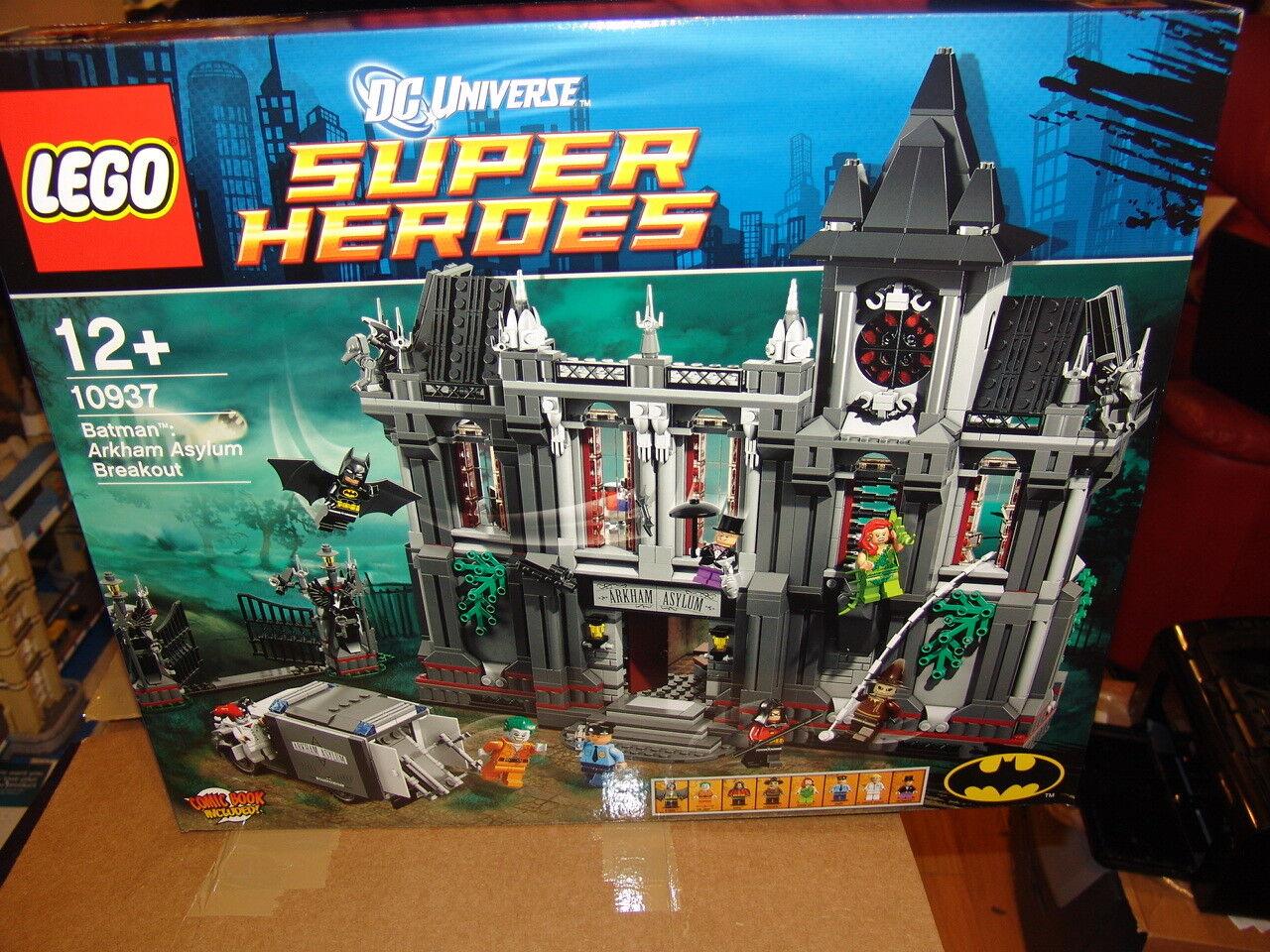 LEGO DC SUPERHEROES 10937 ARKHAM ASYLUM BREAKOUT BRAND NEW