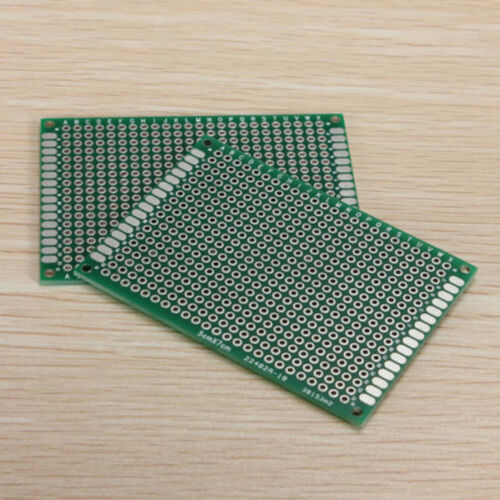 Packs of 5 Double Side Strip Board Printed Circuit PCB Vero Prototyping Track