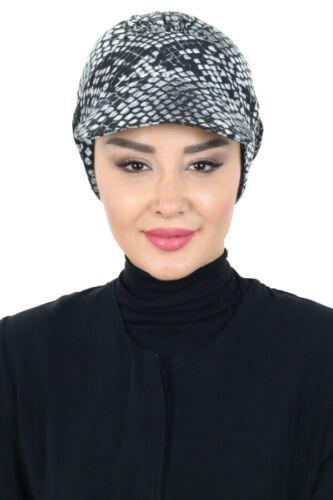 BO-30 Fertig Kopftuch Praktisch Hijab Bone Türban Esarp Sal Tesettür Khimar
