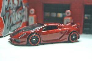Details about Hot Wheels Loose Lamborghini Sesto Elemento , Red , HW Exotics