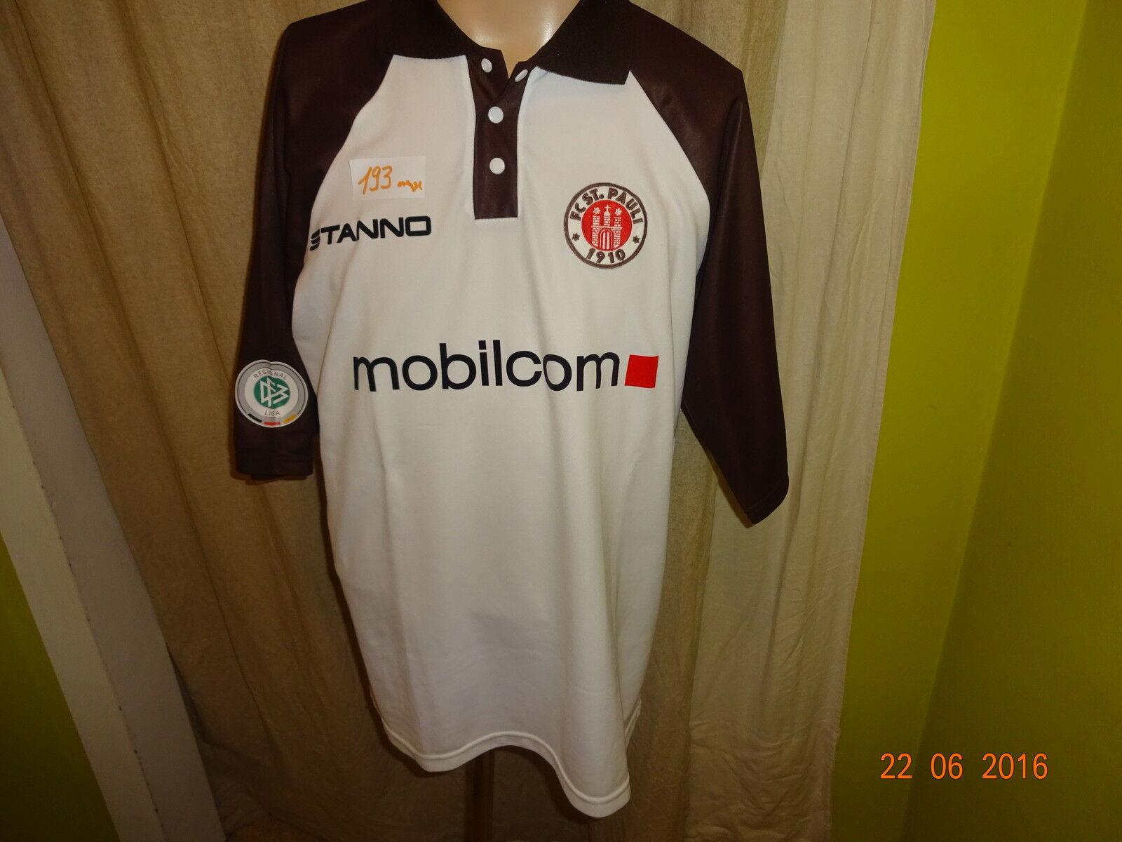 FC St.Pauli Stanno Matchworn Trikot 2003 2003 2003 04 + Nr.24 Gruszka + Handsigniert Gr.XL df28d9