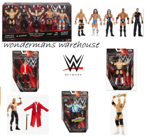 WWE FARETTO Figure-Network Maestro della CAMPANELLA//TRIPLA H//Sting//Rock//Warrior//VINCE-NUOVO