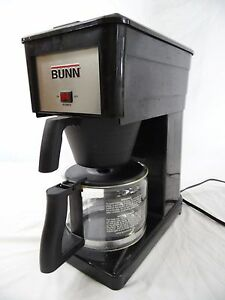BUNN GRX-B Black Coffee Maker Non-Working As-Is For Parts or Repair COMPLETE eBay