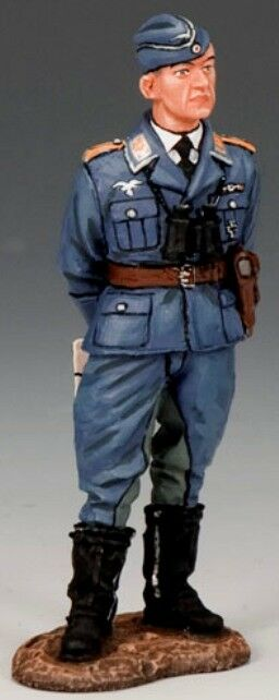 KING & COUNTRY LUFTWAFFE LW046 WW2 GERMAN GERMAN GERMAN PILOT LT. GUNTHER LUTZOW MIB c272da