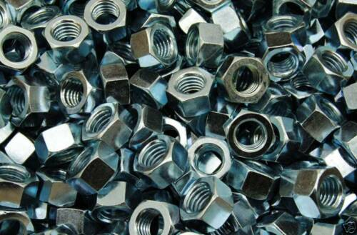 Zinc Plated 1//2-13 Hex Finish Nuts 600 3//4 Hex