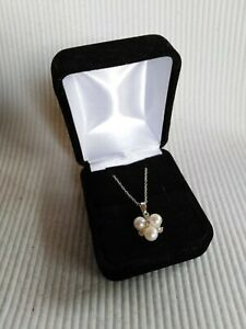 925-Silver-Chain-With-Diamonds-And-Genuine-Fresh-Water-Pearls
