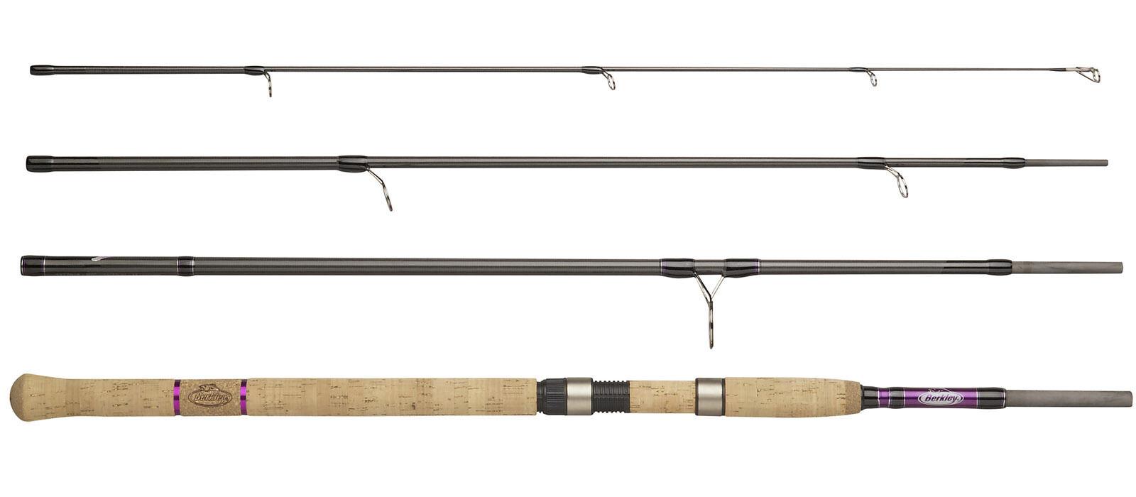 Berkley Phazer Pro II Spin 2 4 piece 7ft 8ft 9ft Fishing Rod