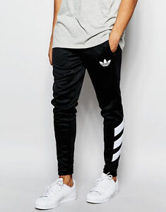 Image is loading Adidas-adidas-Originals-Skinny-Joggers-AJ7673-Black-Size-