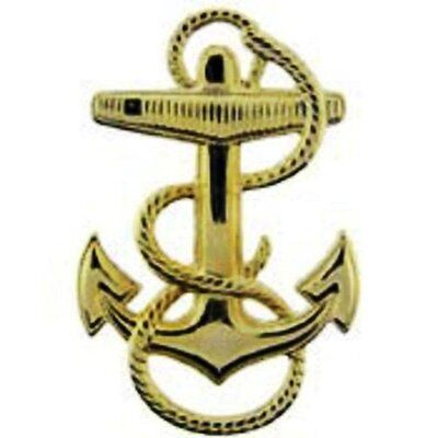 1.25 inch Navy Fouled Anchor Lapel Pin