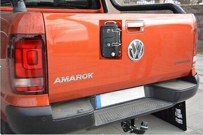 VW Amarok Heckklappen Zentralverriegelung Nachrüstsatz zum Öffnen mit Schlüssel