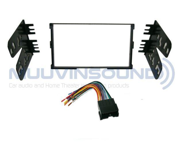Radio Stereo Installation Mounting Dash Kit Combo 2din