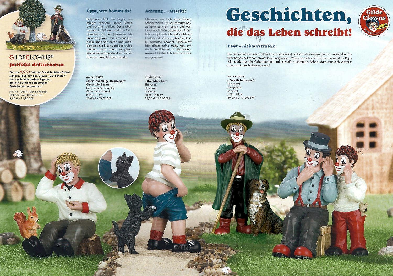 Gilde Clown - Schäfer, Visitantes Crujientes, la Attacke o Geheimnis a Elegir
