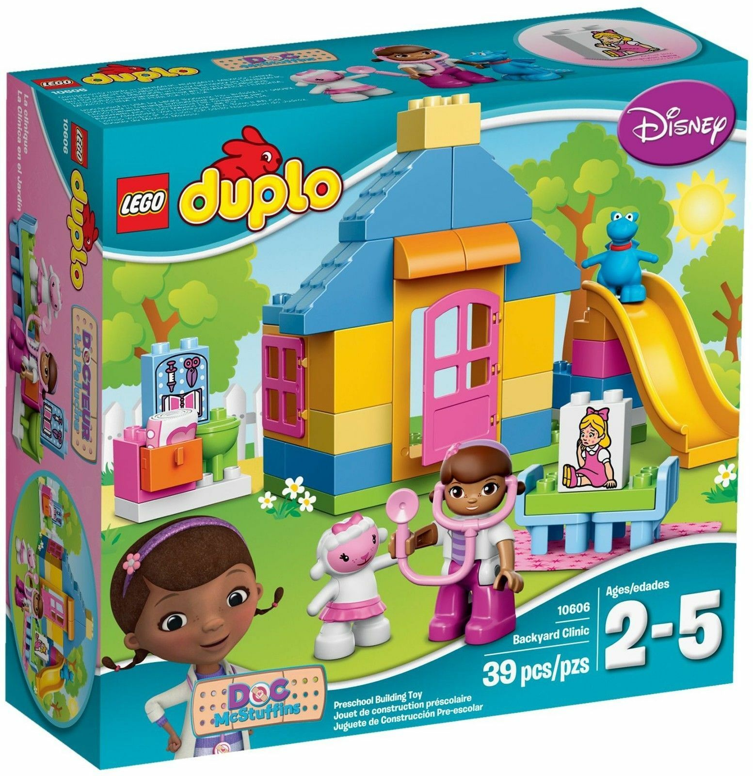 Lego Duplo Duplo Duplo Doc Mcstuffins 10606 Gartenklinik - New Sealed ad882d