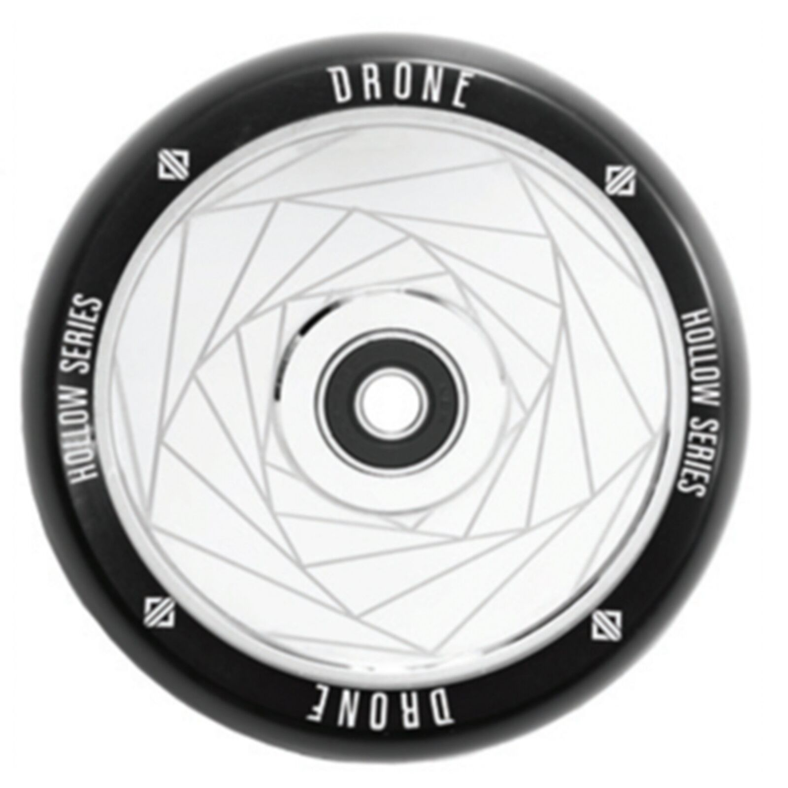 Drone Scooters Featherlight Hollow Core Scooter Wheel, Spiral