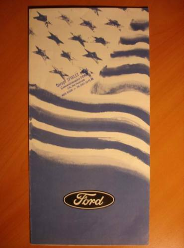 Catalogue Publicitaire Gamme Ford Usa 1979