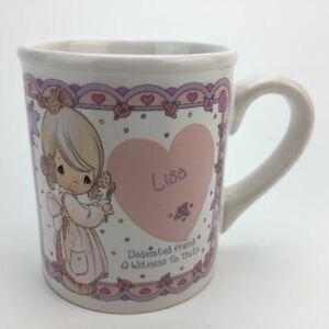 Precious-Moments-Lisa-Coffee-Tea-Mug-Cup-10-oz-Porcelain